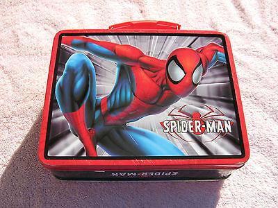 Spiderman 3D lunch box 2003