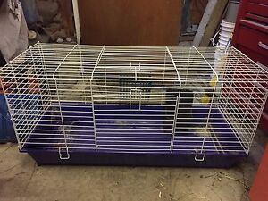 Large and Small Rabbit Cages and Accessories