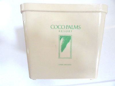 Coco Ice - Vintage Coco Palms Resort & Hotel Ice Bucket Wailua Kauai Hawaii