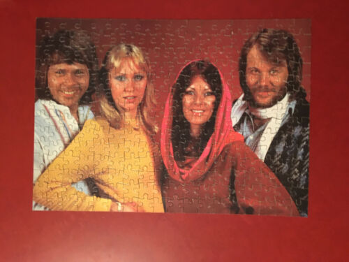 ABBA Vintage Jigsaw Puzzle Complete 252 pieces S.P. Toys England SPP 3080 12x17
