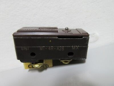 New Honeywell Micro Switch Mt-4r-a28 Large Basic Switch