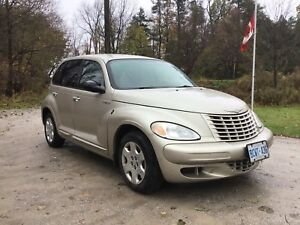 2005 PT Cruiser - 235 k - with safety cert.  great cond.