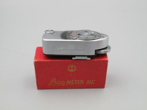 Leica Meter MC Light Meter in Box