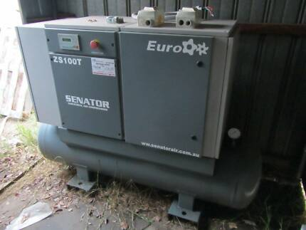 Air Compressor, Senator ZST100T Screw 0.9m3/min Edwardstown Marion Area Preview