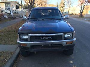 1991  Toyota 4Runner 22re 5spd 4x4
