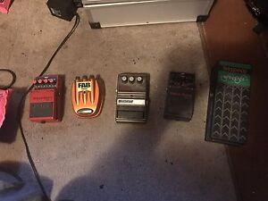 Various guitar pedals for sale