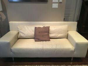 Italian leather couch for sale