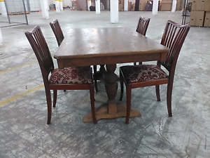 Charming old rustic table and chairs Heidelberg Banyule Area Preview