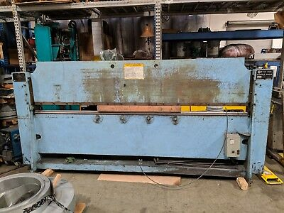 Roto-die Model 10 Hydraulic Press Brake Bender 10 X 16 Ga