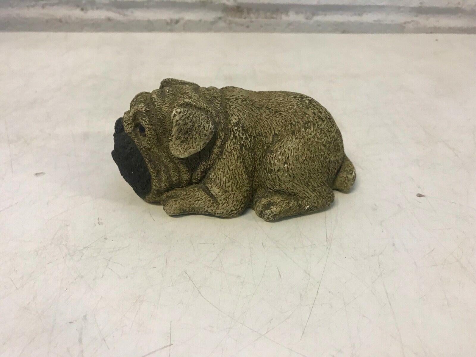 Bulldog anglais figurine chinois import enesco signé
