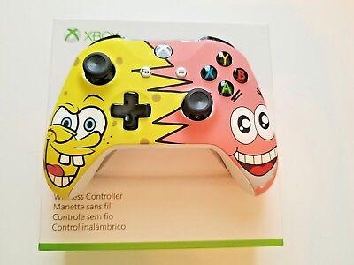 Xbox One S Wireless Microsoft Controller Spongebob And Patrick