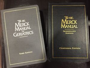 Old Merck Manuals