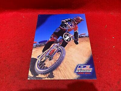 NOS VINTAGE 1999 BMX REDLINE BICYCLES PRODUCT CATALOG BMX FREESTYLE RACING for sale  Shipping to India