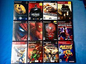 12 Playstation 2 Games