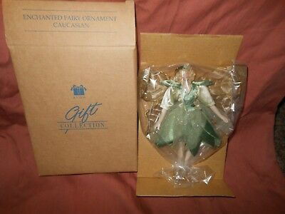 Avon Enchanted Christmas Fairy Green Costume Angel Ornament 7