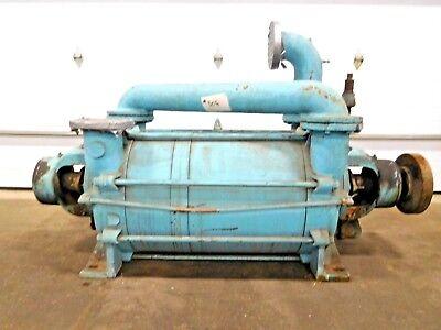 Mo-2708 Graham Liquid Ring Gas High Vacuum Pump. 1pv8255fnz. 20 Scfm. 2 Stage.