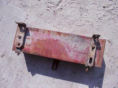 Farmall Ih H M Sm Sh 300 350 400 450 460 Tractor Frame Rail Tool Box W Brackets