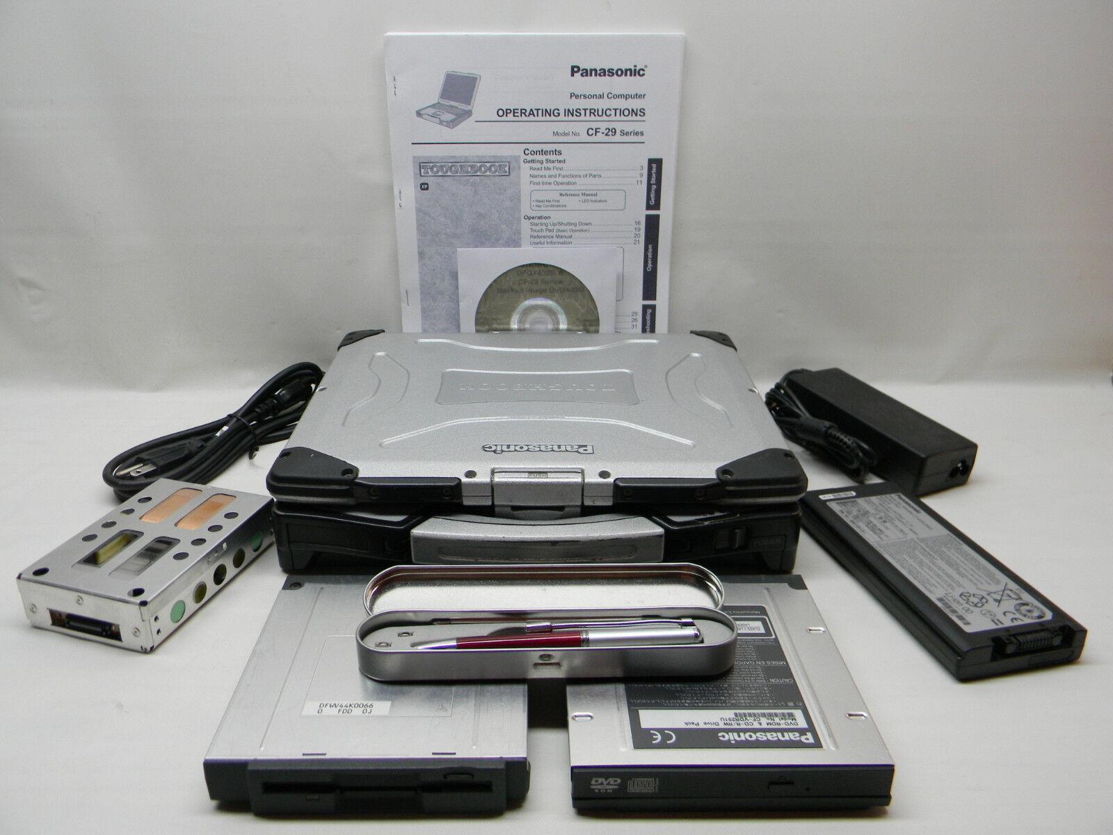 Panasonic Toughbook CF-29 Commercial/Industrial Laptop Touchscreen XP Pro #687