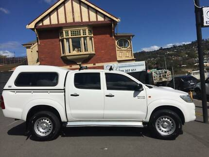 2011 Toyota Hilux 4X4 Dual Cab with Canopy South Launceston Launceston Area Preview