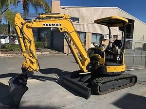 Yanmar Vio30-6 Mini Excavator Biggera Waters Gold Coast City Preview