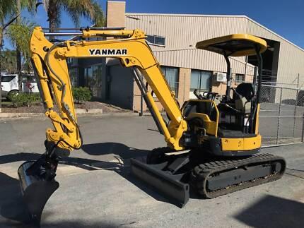 Yanmar Vio30-6 Mini Excavator