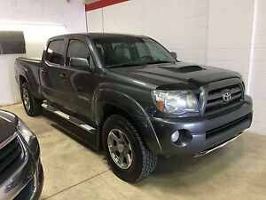 2009 Toyota Tacoma double cab, TRD Sport, leather, bcam!