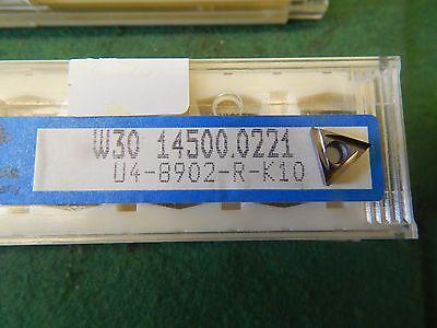 5 Komet W30 14500.0221 U4 8902 R K10 Carbide Inserts