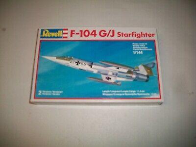2 Revell 1/144 Models: MiG 21 PF Fishbed F-104 G/J Starfighter