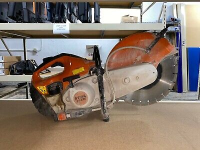 Pre-owned - Stihl Concrete Saw Ts420 - Good Working Condition