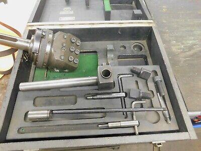 Wohlhaupter Upa-4 Boring Facing Head 4 Morse Taper Shank