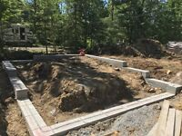 ICF foundations, Custom homes /  cottages and additons