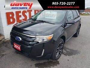 2014 Ford Edge SEL SUNROOF, HEATED LEATHER SEATS, NAVIGATION
