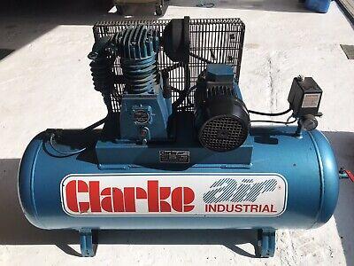 clarke industrial air compressor 150ltr