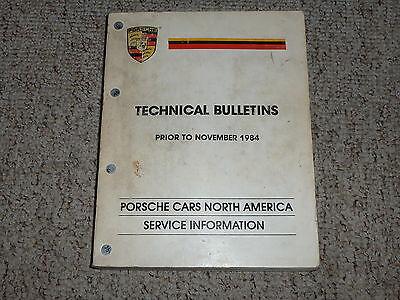 1978 Porsche 911SC 911 SC Turbo Bulletins Shop Repair Service Manual 1979 1980