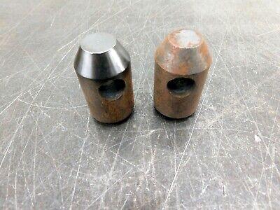 John Deere Quick Attach Weld Bracket Loader Bucket Bottom Pins Lot Of 2