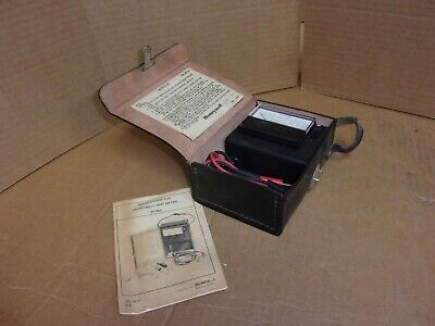Honeywell Test Meter W136a Used
