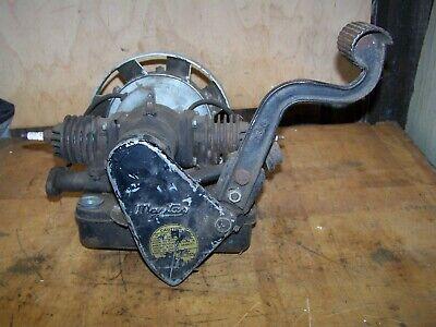 Antiquevintage Maytag Hit Miss Engine Model 72d Motor Twin Kick Start