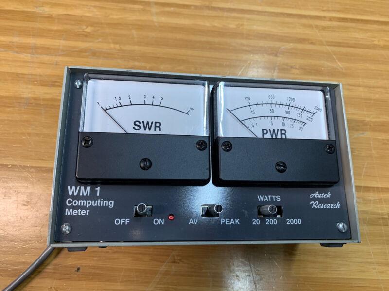 Autek Research WM1 Computing Meter