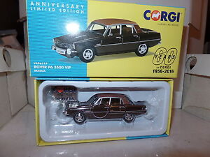 Corgi Vanguards VA06519 Rover P6 3500 VIP, Brasilia Brown 60th Anniversary