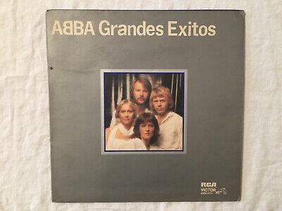 ABBA Grandes Exitos Argentina press RCA black vinyl LP record