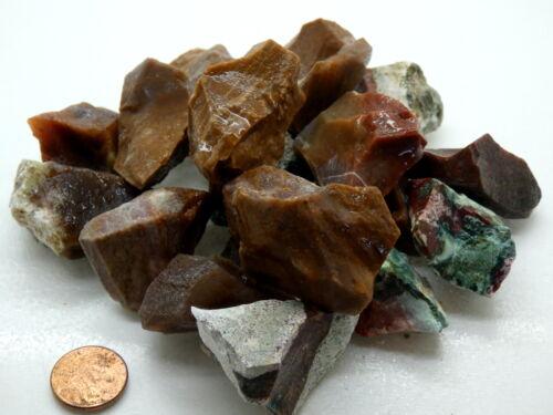 FANCY JASPER Rough Stones - 1 lb Lots - Tumbler Rocks