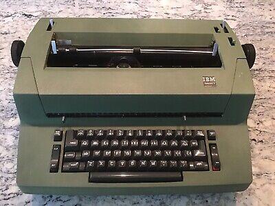 Parts Or Repair Ibm Selectric Ii Electric Typewriter Green Vintage 1970s