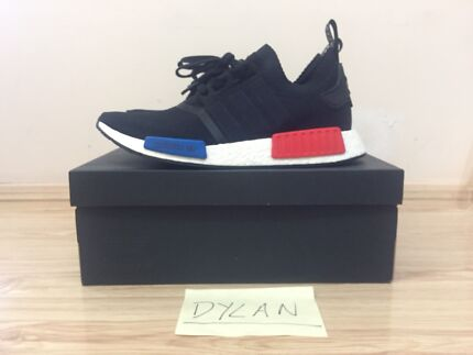 Adidas NMD_R1 PK OG Black/Red/Blue - Sz 9.5US