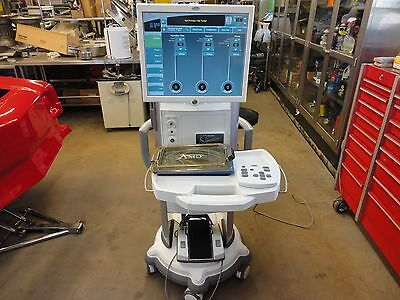 Amo Whitestar Signature Phaco Machine W Hand Piece Footswitch Remote Extras