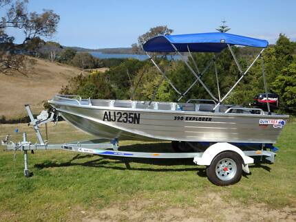 2015 QUINTREX 390 EXPLORER PACKAGE Tuross Head Eurobodalla Area Preview
