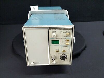 Tektronixtm502a Mainframe With Am503b Current Probe Amplifier 7317-q