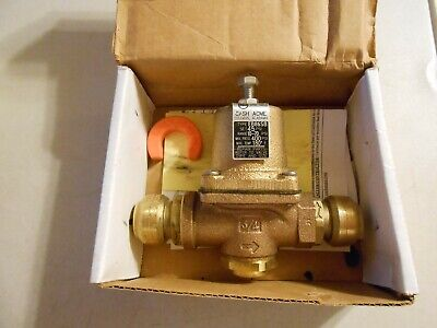 Cash Acme Pressure Reducing Valve Eb86dsb 34 Item 21562-0045 New