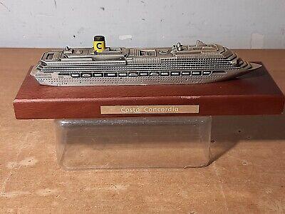 COSTA CONCORDIA MODELLINO NAVE CROCIERE MODEL SHIP COLLEZIONE