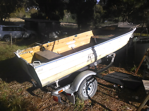 Tinnie Sea Jay trailer ( tinny boat ) Ballarat Central Ballarat City Preview