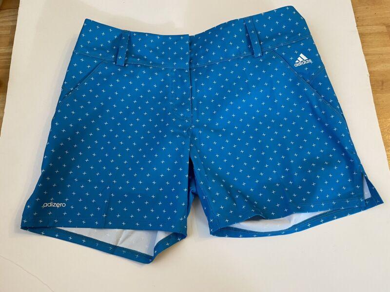 Adidas Adizero Womens Golf Shorts Size 2 New